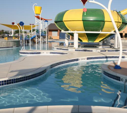 Pampa H2o Aquatic Center City Of Pampa Texas